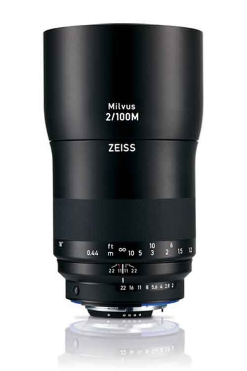 ZEISS Milvus F/2M 100mm ZF.2 Lens for Nikon