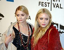 "Mary-Kate Olsen and Ashley Fuller Olsen known as the Olsen Twins are American actresses and fashion designers. The fraternal twins made their acting debut as infants playing Michelle tanner on the TV series ""Full House."" At age six Mary-Kate and Ashley began starring in TV, film, and video projets. Through their company Dualstar, the Olsen joined the ranks of the wealthiest women in th entertainment industry at a young age. Ashley (left) and Mary-Kate (right) at the 2011 Tribeca Film…"
