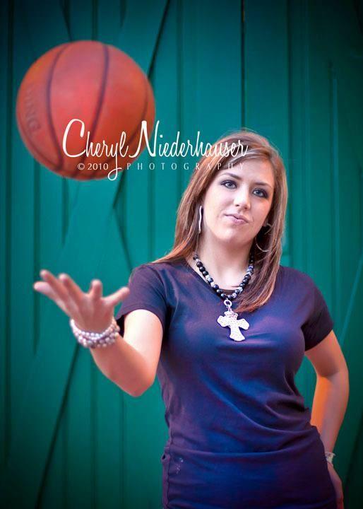 Alexia, basketball senior pictures