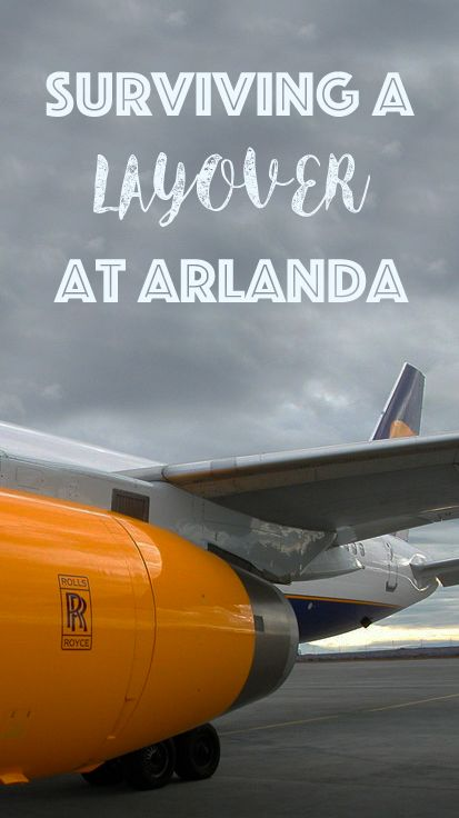 How to deal with a long layover at Stockholm's main airport, Arlanda. Includes tips on getting into the city centre.