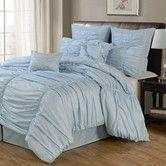 Found it at Wayfair - LaCozee Venetian Ruched 8 Piece Comforter Set