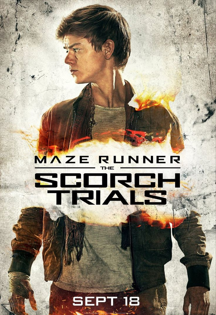 Thomas Brodie-Sangster - The Scorch Trials poster
