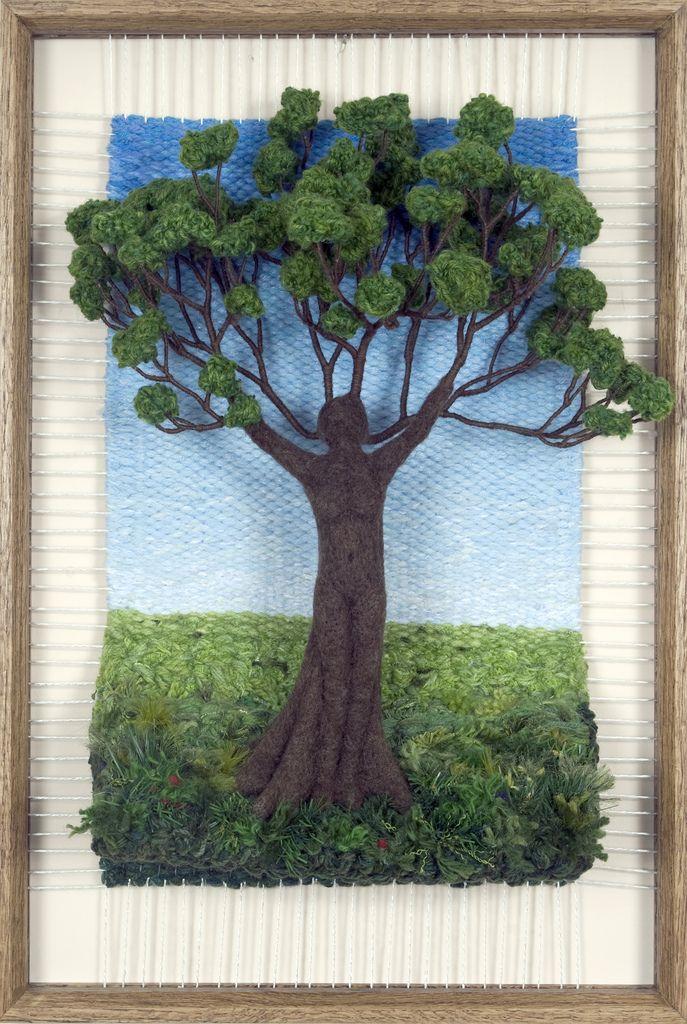 Martina Celerin Dimensional Weavings - Gallery