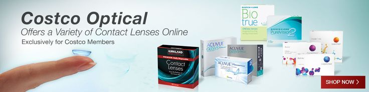 Costco Optical Offers a Variety of Contact Lenses. Now available to purchase on Costco.com Shop Now.