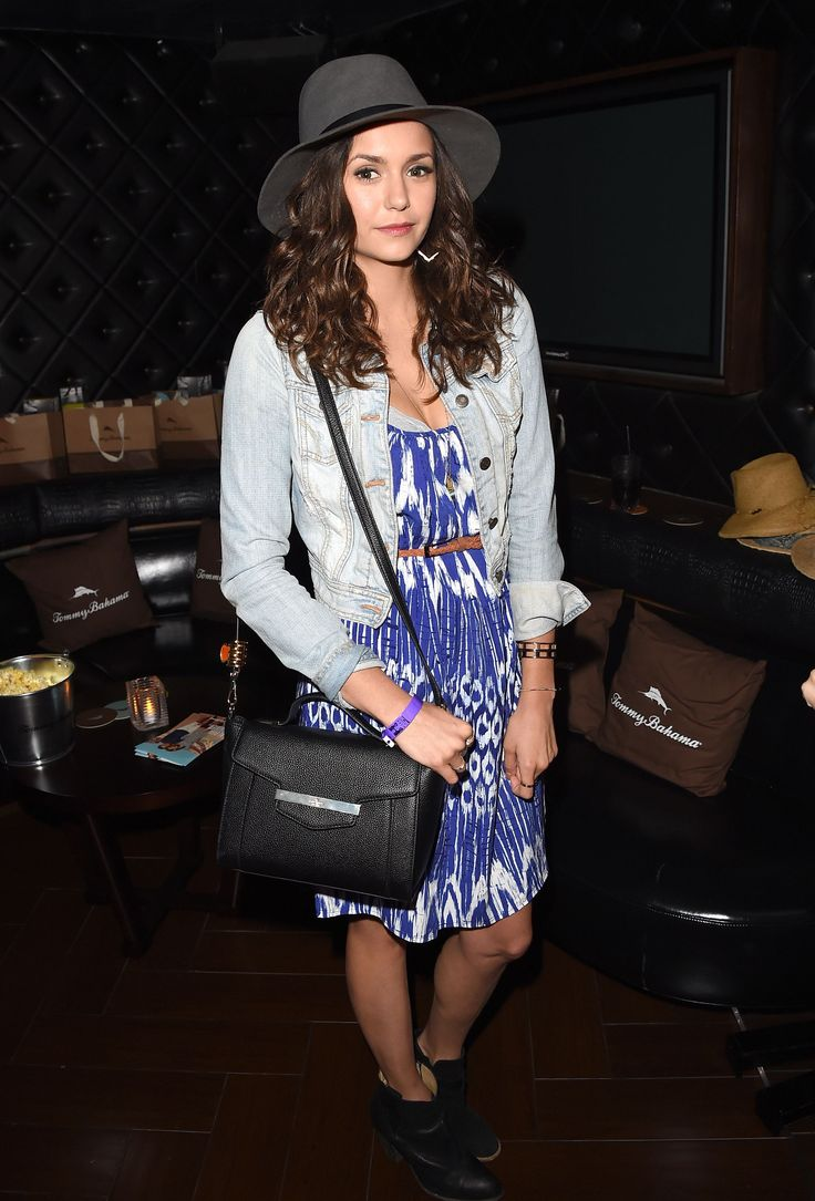 Nina Dobrev attends a private event at Hyde Staples Center