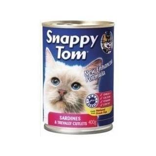 Snappy Tom Sardalya ve Somon Balığı Kedi Jelli Maması