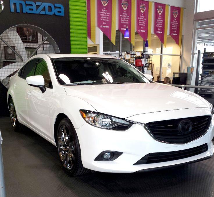 2014 #Mazda6 with black chrome wheels!