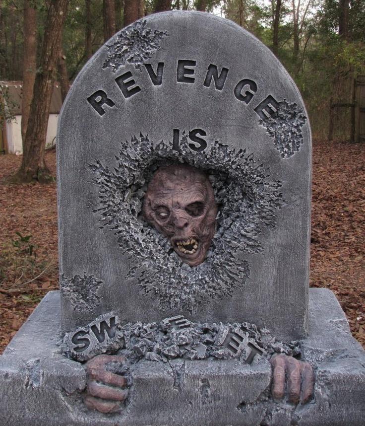 Revenge Tombstone - HauntForum