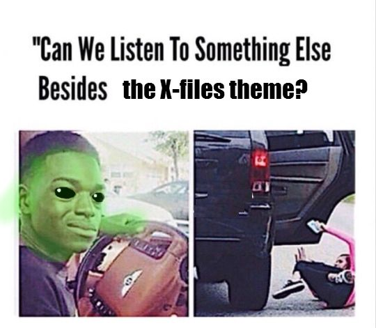 The X files theme is my actual ringtone