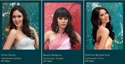 2013 Finalis Miss Indonesia
