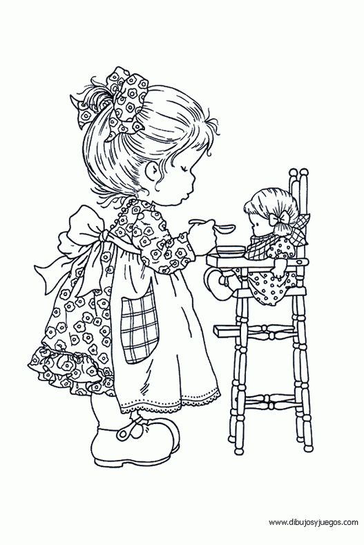 sarah kay coloring pages to use for embroidery patterns