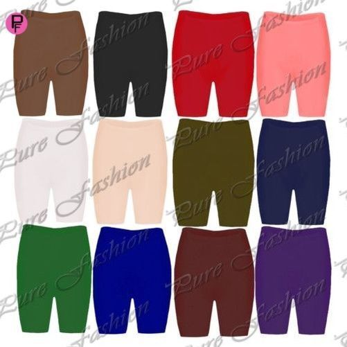 Womens Plus Size Cycling Shorts Ladies Lace Stretchy Hot Pant Dancing Tights