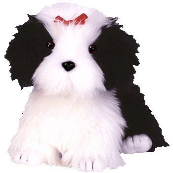 Ty Beanie Babies Poofie The Dog By Ty Beanie Baby Dog