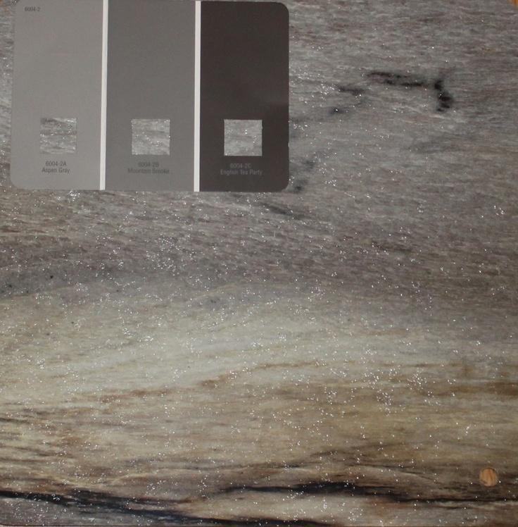 Valspar Countertop Paint : Formica 180fx Dolce Vita countertop and Valspar Aspen Gray paint for ...