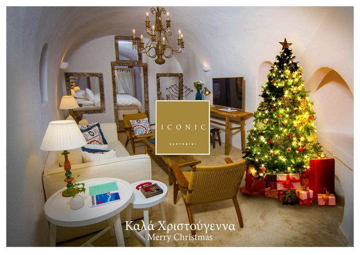 The Iconic family wishes our visiting friends and followers a blessed festive period and #seasonsgreetings from our haven of tranquility! #iconicsantorini #imerovigli #santorini  #merrychristmas #happyholidays