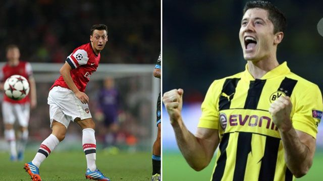 English League leaders Arsenal take onto last year's UEFA Champions League runner-up, Borussia Dortmund in a group game tonight. Expect a spectacle of football at its best with two of the best teams in Europe.