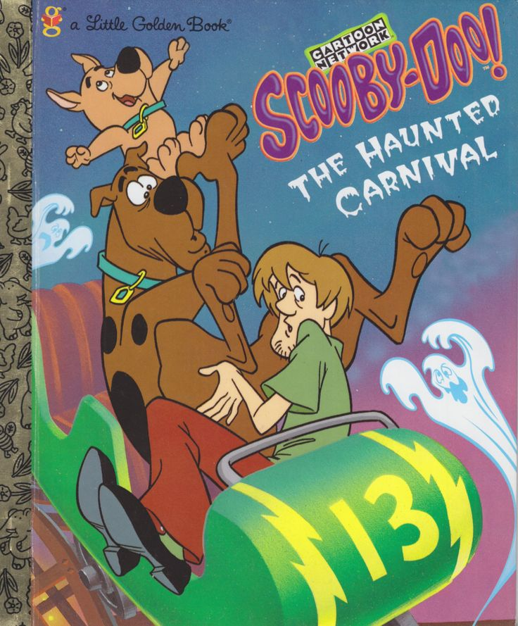Title: Cartoon Network - Scooby-Doo! - The Haunted CarnivalSeries: Little Golden Books (ISBN: 0307-99504-6 Characters: Scooby-Doo, Shaggy Rogers, Fred Jones, Velma Dinkley, Daphne Blake,...