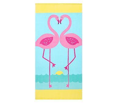 Classic Flamingo Beach Towel #pbkids