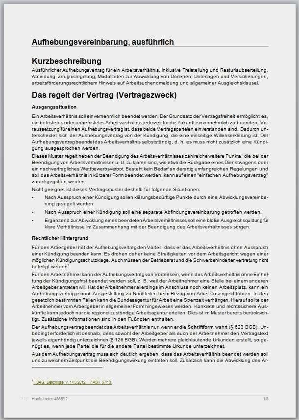 30 Schon Aufhebungsvertrag Ausbildung Vorlage Galerie In 2020 Aufhebung Vorlagen Vertrag