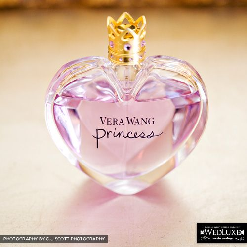 Cute How They Photograph the Perfume of the Day :)