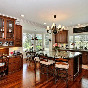 Gorgeous Wood Floor Design