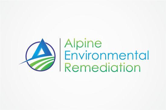 logo for Alpine Environmental Remediation by MajuMukti