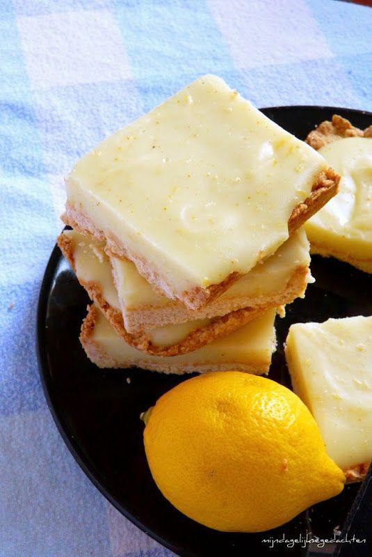 Light Lemon Coconut Bars
