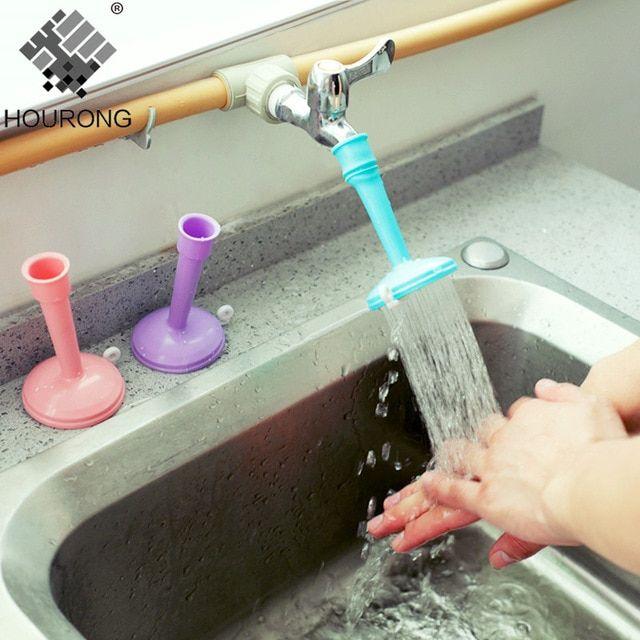 1pc Adjustable Bathroom Faucet Sprayers Tap Filter Nozzle Faucet Regulator Creative Water Saving Kitchen Accessories Review Faucet Extender Faucet Bathroom Faucets