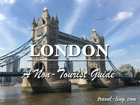 The Non-Tourist Guide to London - YouTube |  London is not an unknown destination. So with that in mind, we decided to see some of the non-touristy things of London, such as street food, best views of the city, alternative markets and cafes. Here is our 'Non-Tourist Guide' to London. Read the full post at http://travel-ling.com/the-non-tourist-guide-to-london/ |