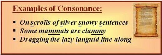consonance examples - Google Search