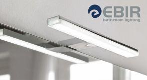 Pandora -kylpyhuonevalaisin tuottaa valoa 1000 luxin edestä! Tämä AC-valaisin kytketään suoraan verkkovirtaan, jolloin muuntajaa ei tarvita. #pandora #Ebir #kylpyhuonevalaisin #helatukku #helatukkufinland #kylpyhuone #valo #uutuus