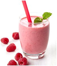 This smoothie recipe with raspberries, almond milk, and wheat germ makes a healthy breakfast or snack in a glass! Preparation Time 5 minutes Total Time 5 minutes Yield 1 serving  Ingredients 3/4 cup raspberries 2/3 cup almond milk, unsweetened 2 tablespoons wheat germ 1 teaspoon honey 1-2 ice cubes    Method Place raspberries, almond …