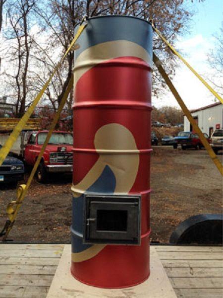 Rod Zander Double Barrel Heater | Masonry Heaters - Tile Stoves | Pinterest  | Stove, Double barrel and Decathlon - Rod Zander Double Barrel Heater Masonry Heaters - Tile Stoves