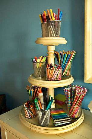 Hope to be this organized with my art supplies
