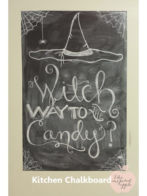21 Inspiring Ways To Use Chalkboard Paint On a Kitchen 1 Kitchen