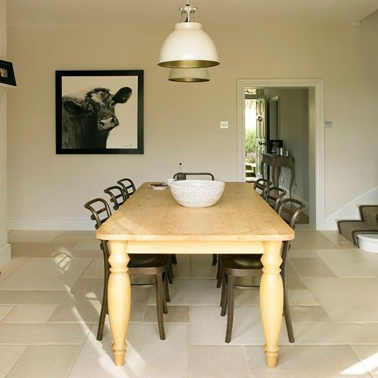 Dining room   West Sussex home   House tour   PHOTO GALLERY   25 Beautiful Homes   Housetohome.co.uk