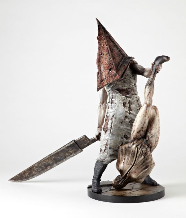 Beyond Creepy Pyramid Head Statue From Silent Hill 2