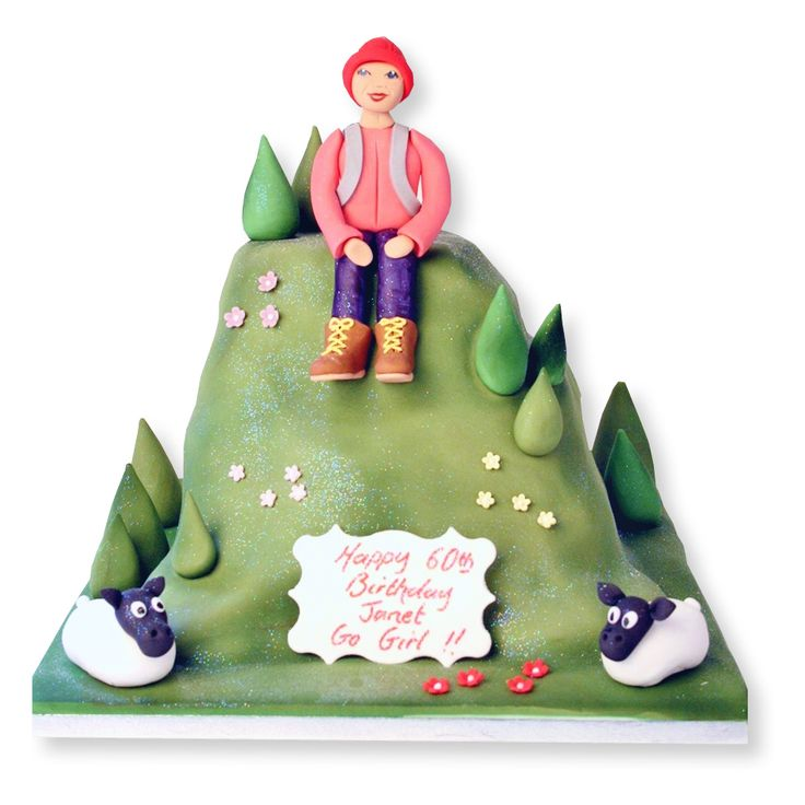 Hiking Cake: 36 Best Hiking Cakes Images On Pinterest