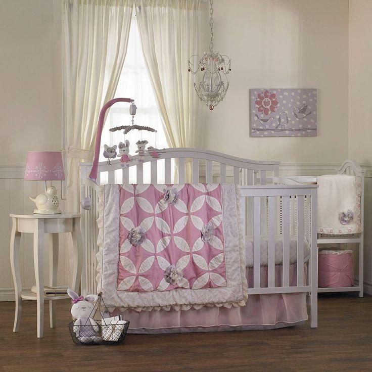 Living Textiles Baby Violet Nursery Coordinates