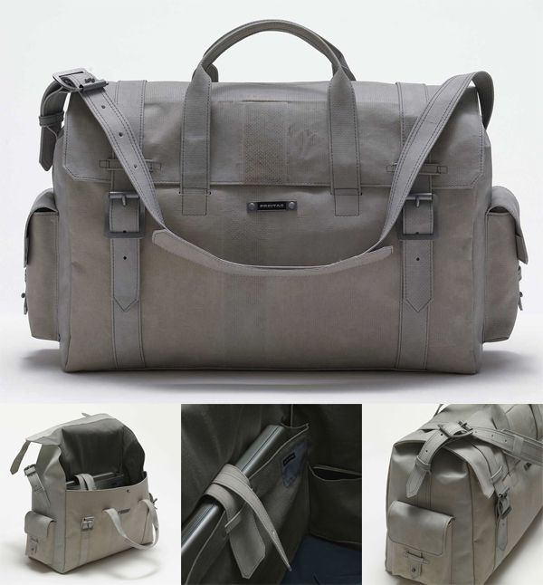 Freitag made in Switzerland.... i want one of these soo badly!!  http://www.freitag.ch/