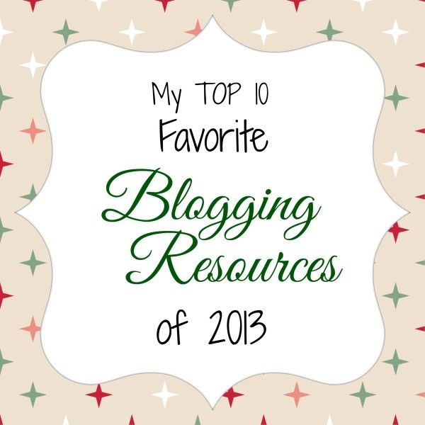 Top 10 Blogging Resources