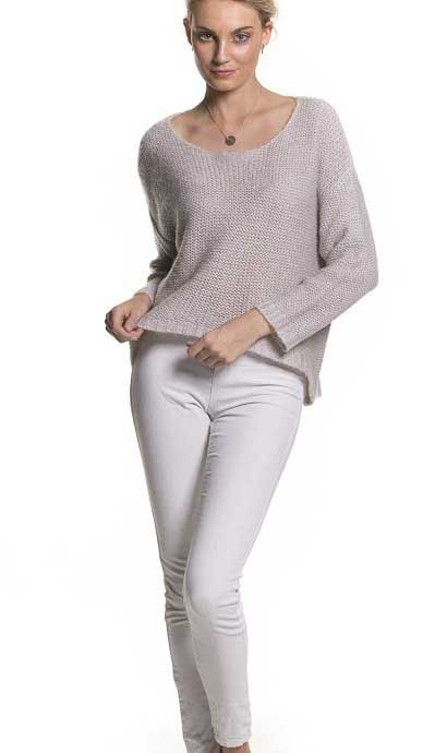 Brave And True Colonial Knit In Oatmeal