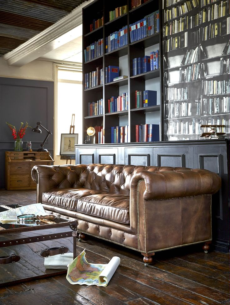 Looking for a timeless and traditional piece to perfectly accent your living area? The Asquith is a classic Chesterfield sofa featuring hand studded detail, a button back and a smooth leather finish.