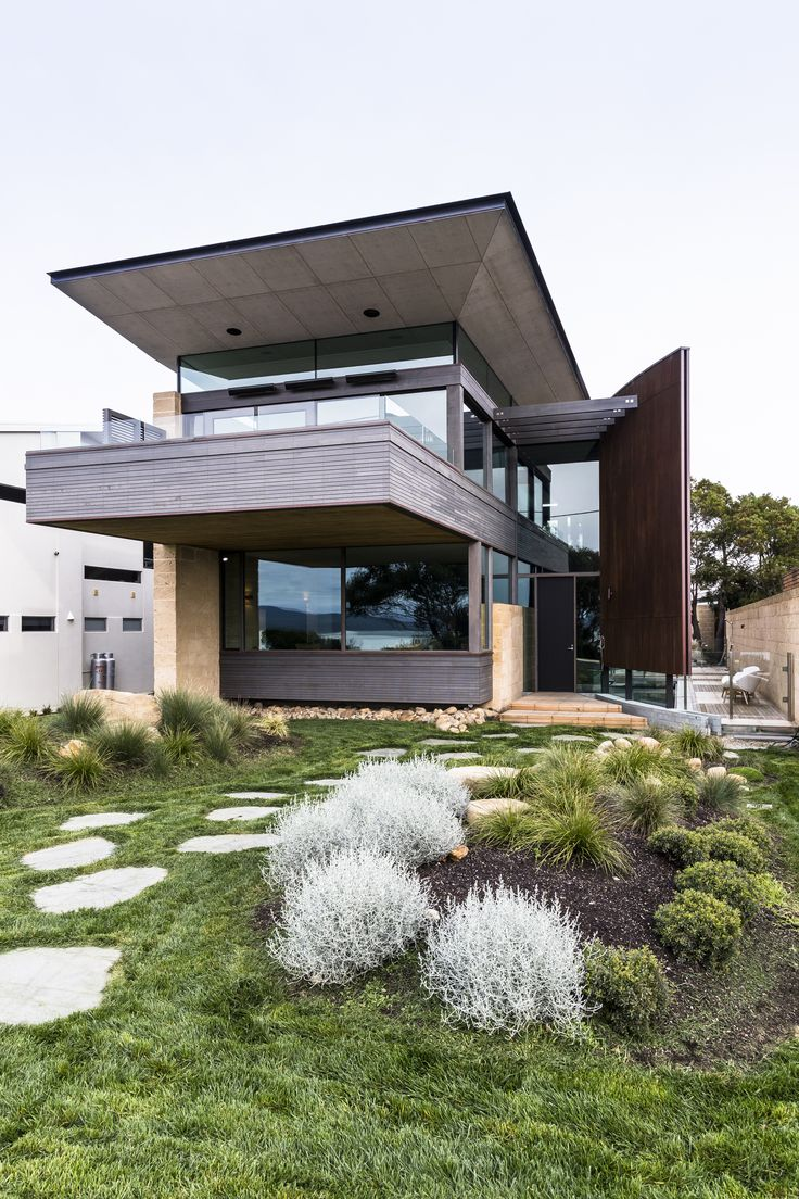 #architecture #homedesign #glass #timber #natural #tasmania
