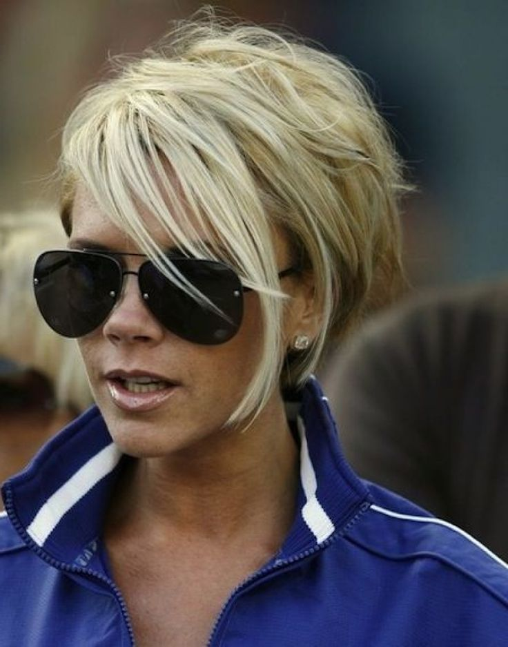 Victoria Beckham Hair Styles Stunning Short Celebrity Hairdos ...