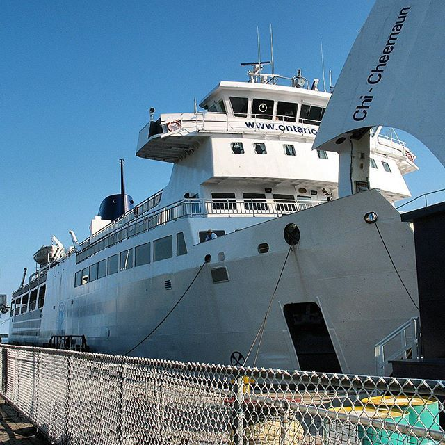 Chi Cheemaun #ferry #chicheemaunferry #tobermory #boat #canadian #onthewater #onthewaterfront  #travel #ontario #outdoors #outside #water #outonthewater #canada #explore #discover #amazingplace #discoverontario