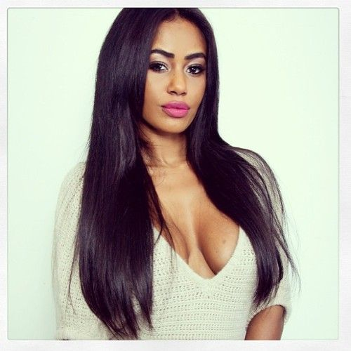 Awesome 1000 Images About Black Weave Hairstyles Long Silky Straight On Short Hairstyles Gunalazisus
