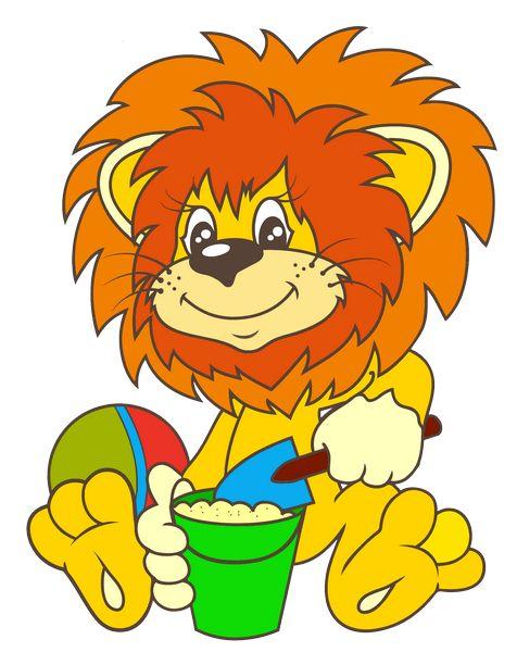 Своими руками, львенок и черепаха картинки для детей нарисованные