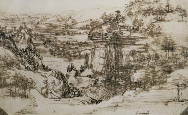 Exhibirán primer dibujo conocido de Leonardo da Vinci