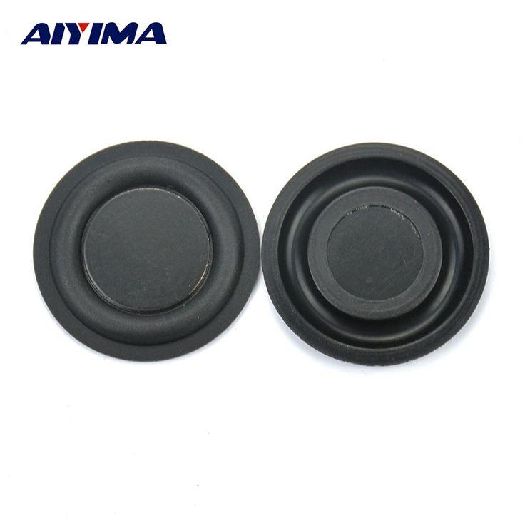 AIYIMA 10Pcs 35mm Audio Speaker Bass Vibrating Diaphragm Passive Radiator Speakers #Affiliate